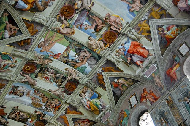 rome sistine chapel italy