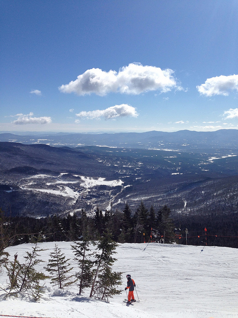 Learning How to Ski in Stowe