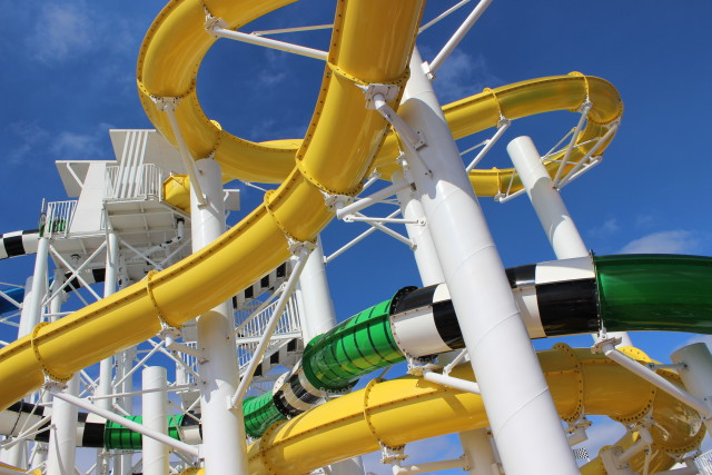 waterslides galore