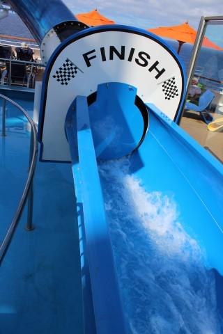 racing waterslides