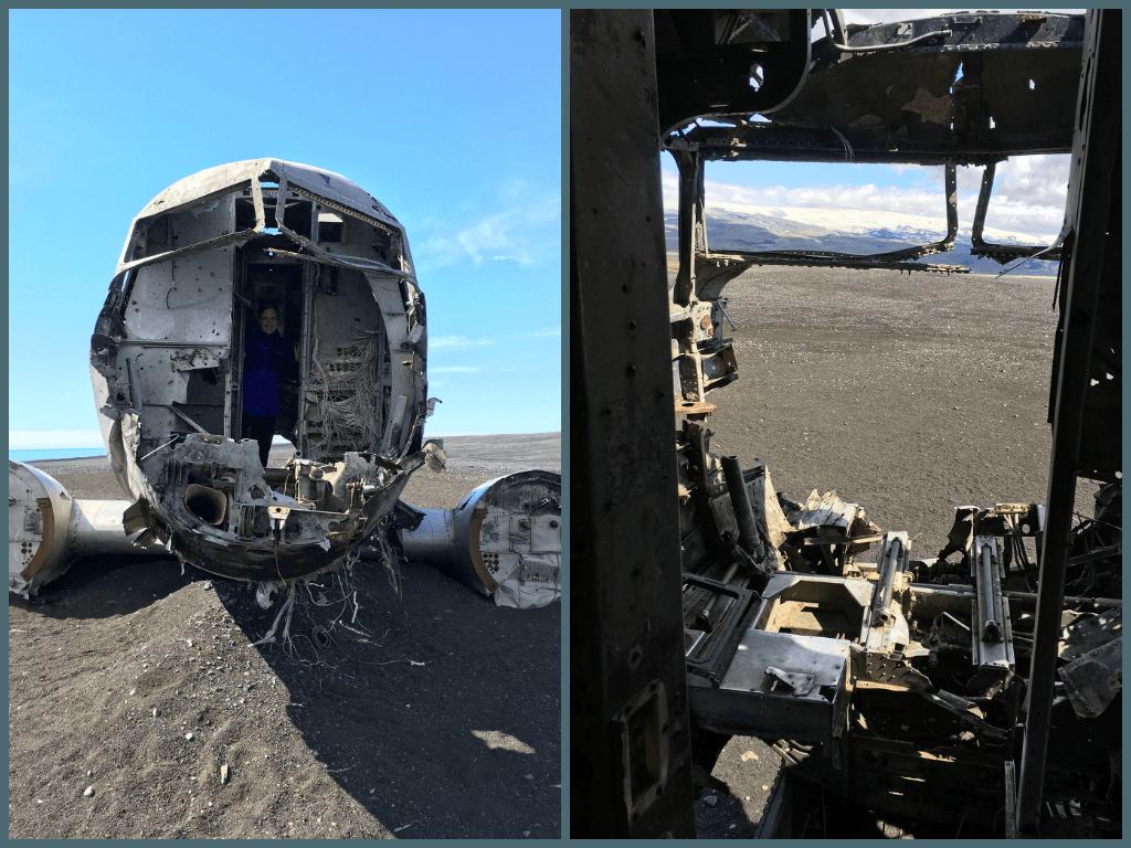 Iceland cockpit