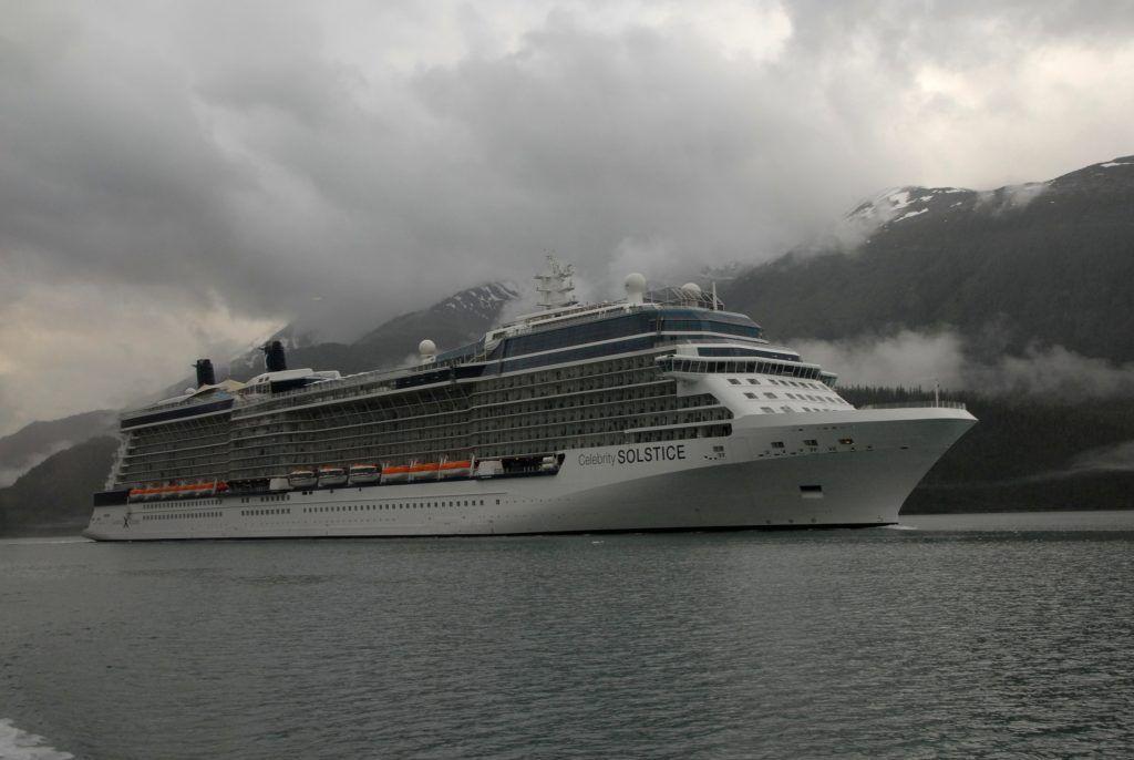 Celebrity Solstice in Alaska