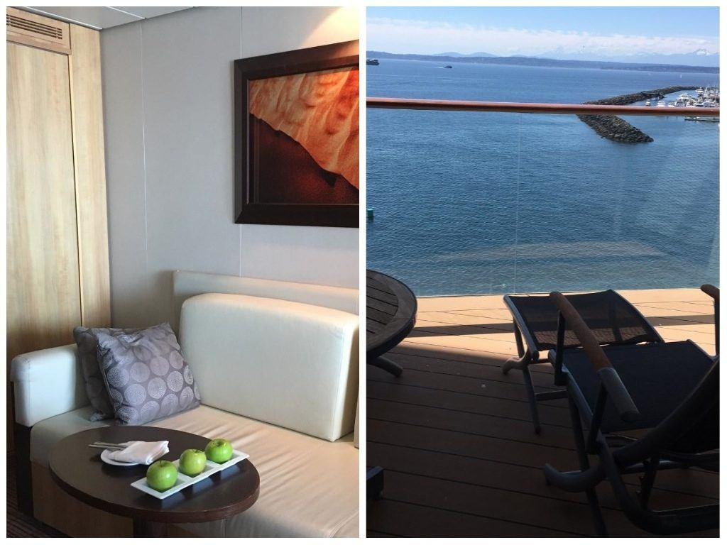 Celebrity Solstice cabin & balcony