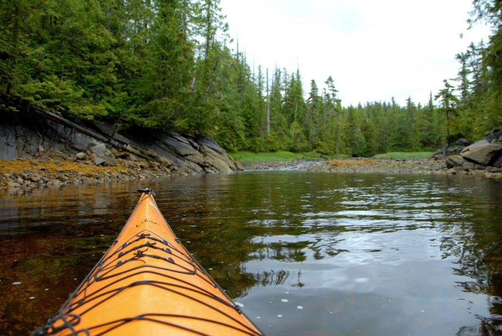 Ketchikan Alaska kayaking