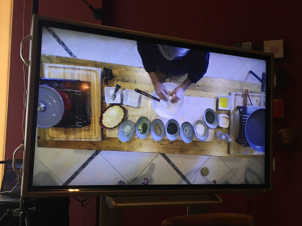Lansdowne cooking view
