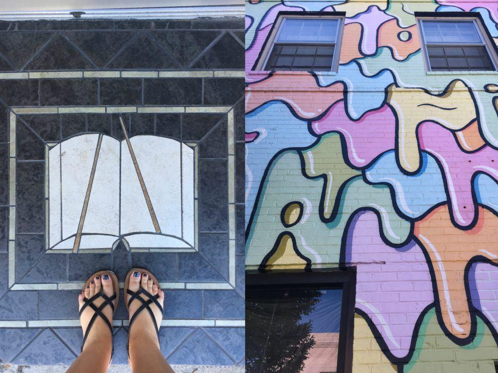 Carytown funky street art