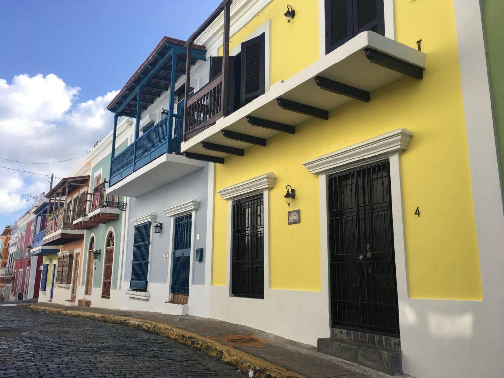colorful San Juan architecture
